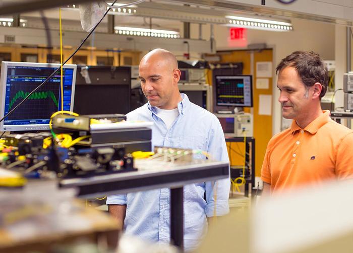 UCSD innovators: Eduardo Temprana (left) and Nikola Alic.