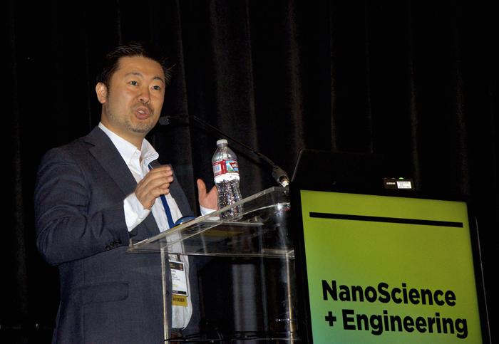 Professor Keisuke Goda gave the plenary on ultrafast/slow imaging.
