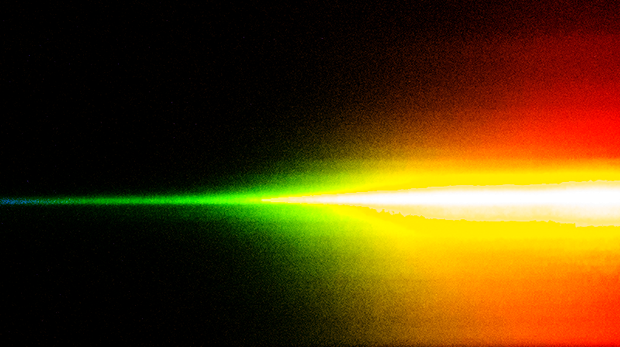 Objective: the broadest possible light spectrum from one chip.