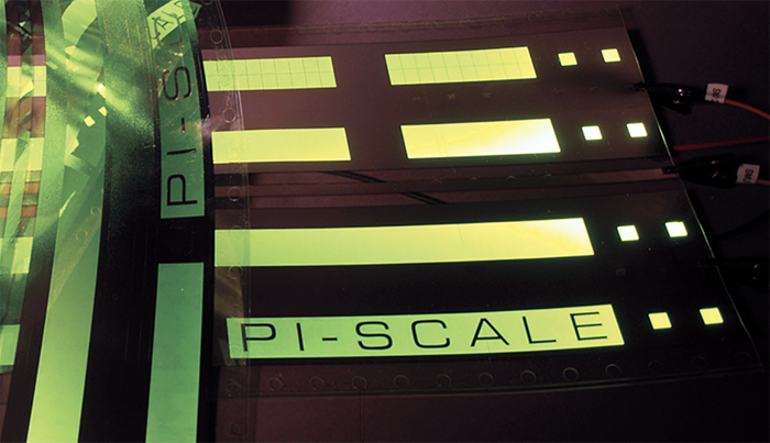 FEP is a core partner of the European PI-SCALE flexible OLED pilot line project.