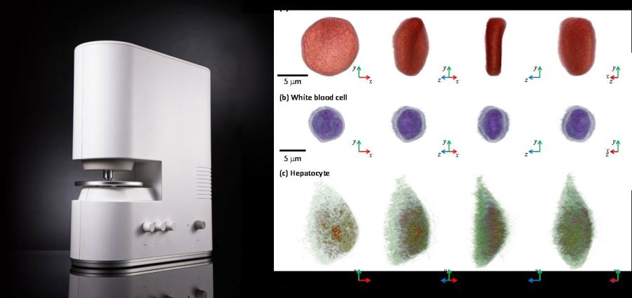 TomoCube HT-1: label-free imaging of cells and tissues