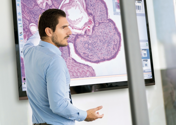 Education using digital pathology technology.
