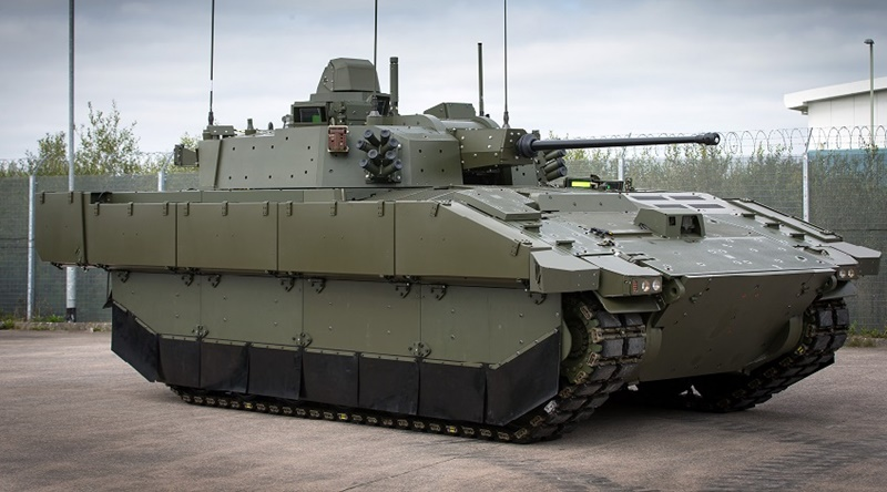 'AJAX' armored vehicle