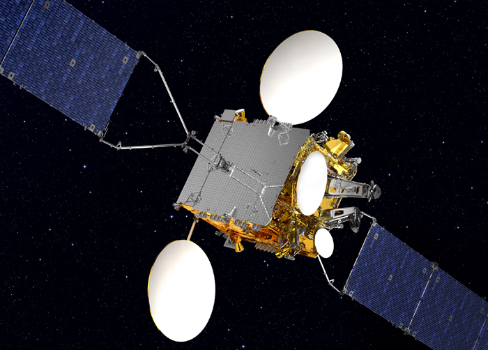 Lightweight structure in orbit: Koreasat-5A.