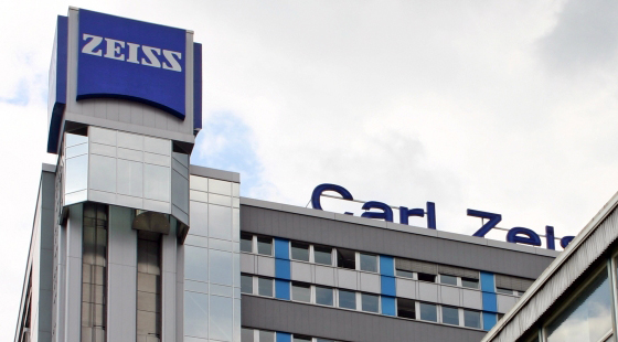 Global HQ of Carl Zeiss company in Jena, Germany.