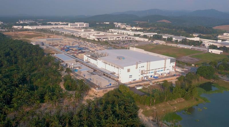 Osram's giant LED facility in Kulim