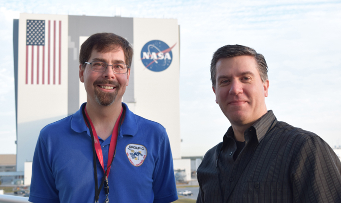 Scott Budzien and Andrew Stephan, lead investigators of GROUP-C and LITES.