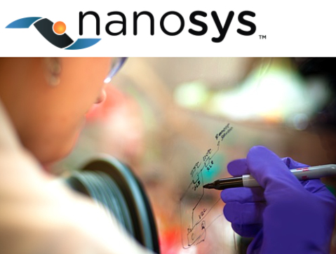 Join the dots: Nanosys's quantum dot display winner.