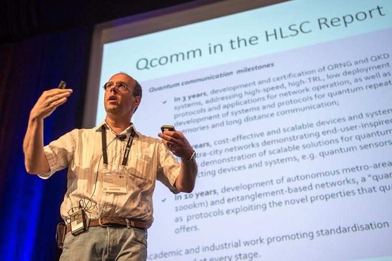 Tomasso Calarco at LASER World of Photonics