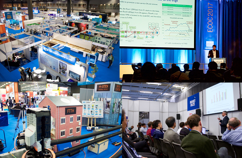 ECOC offered a diverse menu of talks, courses and products, products, products.
