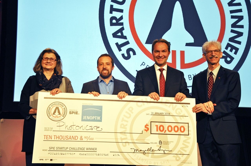 PhotoniCare wins SPIE Startup Challenge