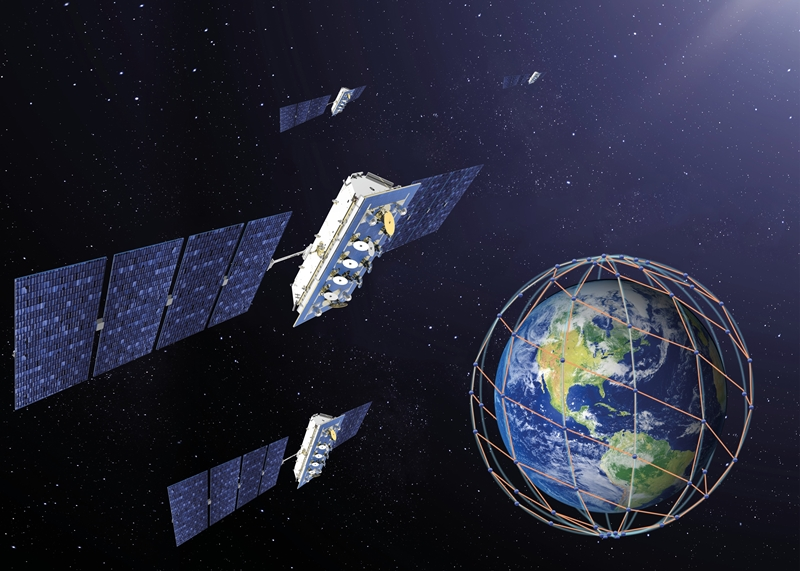 LeoSat: global coverage with optical satellite links