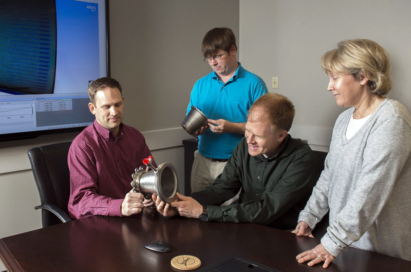 Engineers from NASA Marshall Space Flight Center's Propulsion Department.