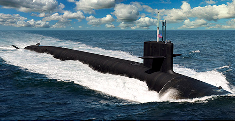 Newport News Shipbuilding is one of two providers of US Navy submarines.
