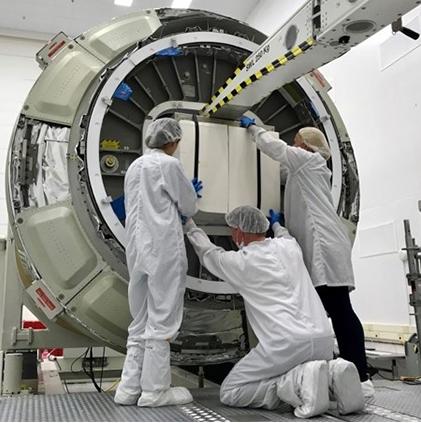 Laser cooling payload