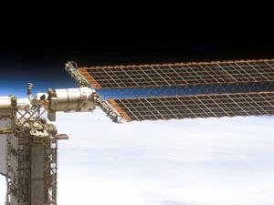 NASA solar array
