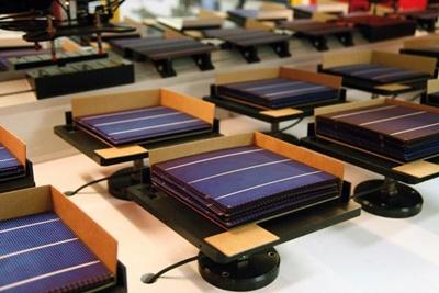 Solar production line