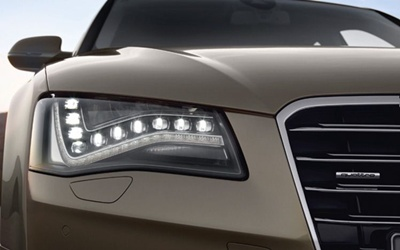 Audi LED headlamps