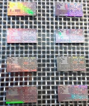 Silicon photonics chips
