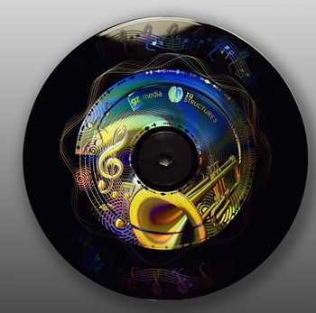 In the groove: holographic vinyl