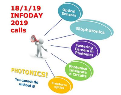 Photonics21 announces Infoday to promote 2019 calls