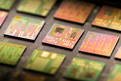Photonic chips.
