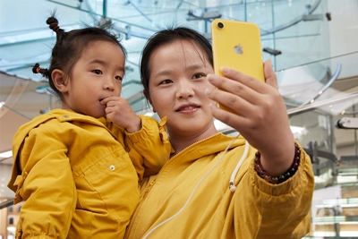 Apple's latest iPhones: not as popular in China