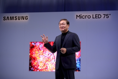 Samsung's micro LED display