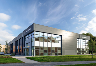Agilent's new facility for spectroscopy at Harwell Science & Innovation Campus.