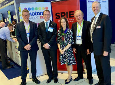 Photonex drew leading figures from industry, academia and politics - click for info.