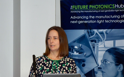 Photonex speaker: Carol Monaghan MP.