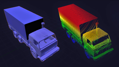 Red lorry, yellow lorry: lidar system watches the traffic.