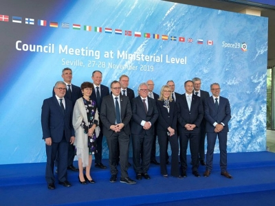 ESA council ministers in Seville