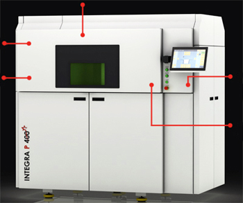 EOS P 500 3D manufacturing platform (Click for more info).
