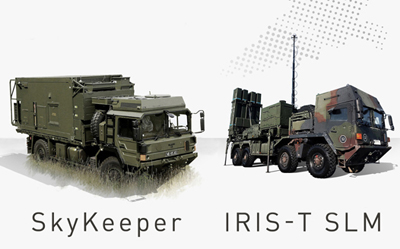 Infra-ready: the new Falcon air defense weapon system.