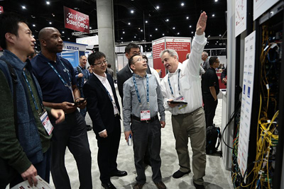 OFC 2019 highlights included interoperability demos.
