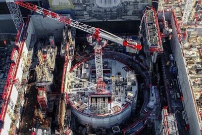 ITER: under construction