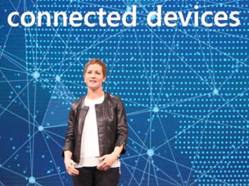Microsoft Azure's Julia White.