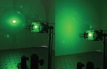 Pilot protection: liquid crystals block laser light