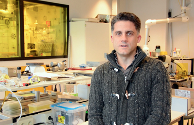 No need for needles – University of Twente's Dr David Fernandez Rivas.
