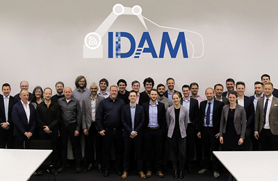 Consortium of the BMBF project IDAM at the kick-off in Munich.