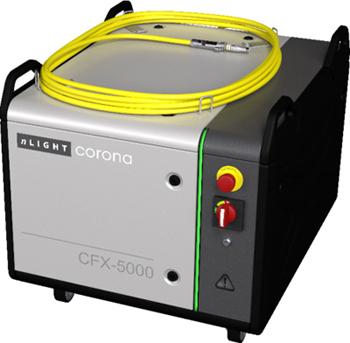 Multi-kilowatt for industry: nLIGHT's Corona CFX-5000.