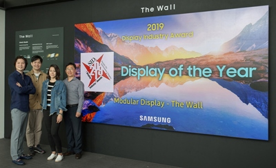 Samsung and 'The Wall' microLED display