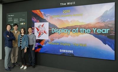 Samsung and 'The Wall' microLED display