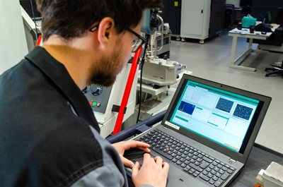 Fraunhofer IWS Dresden has developed a process and material database.