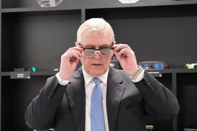 Royal assent: HRH Duke of York tests AR glasses