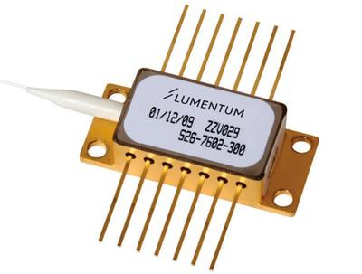 Lumentum's S34 series 14xx nm, 300 to 450 mW diode laser.