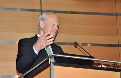 Prof. Reinhart Poprawe has shaped industrial photonics.