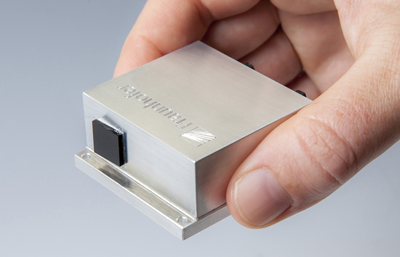 Compact and robust quantum cascade laser module.