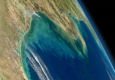 Mexican waves: a NASA view of the Gulf of Mexico, to be monitored by GLIMR.